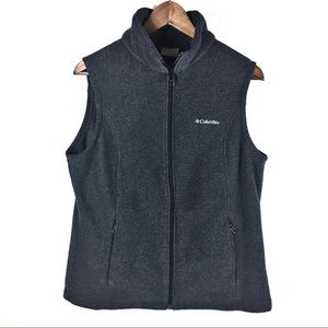 Columbia Large Grey Womens Vest